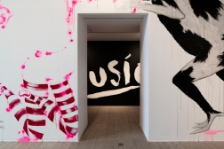 Walldrawing, collaboration with finnish artist Katja Tukiainen