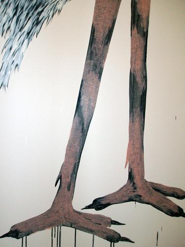 Wall drawing detail - SAAG(Alberta)